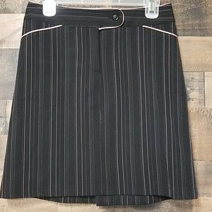 City Triangles pin stripe skirt 7